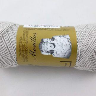 Zepelín color gris 38 de algodón perlé 100% egipcio