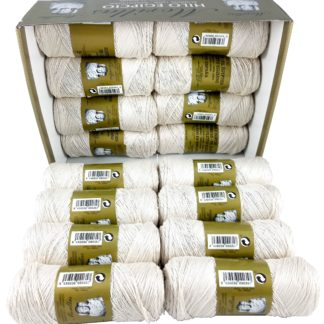 Caja 16 zepelines N5 crudo de algodón 100% egipcio