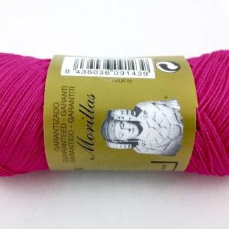 Zepelín color fucsia 13 de algodón perlé 100% egipcio