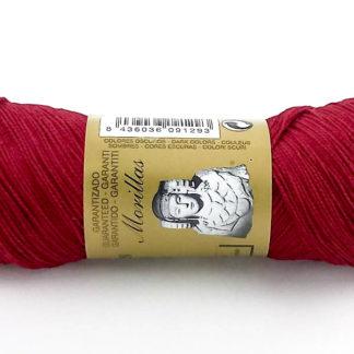 Zepelín color granate 18 de algodón perlé 100% egipcio
