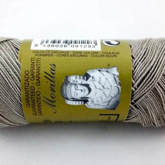 Zepelín color gris 25 de algodón perlé 100% egipcio
