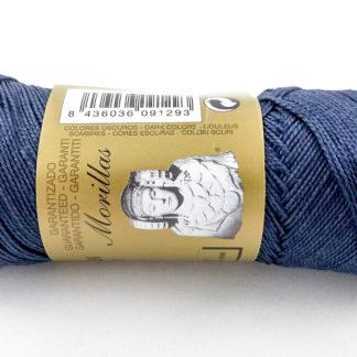 Zepelín color marino 36 de algodón perlé 100% egipcio