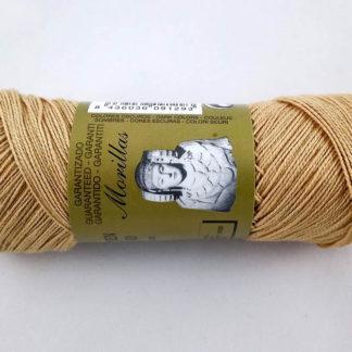 Zepelín color marrón 24 de algodón perlé 100% egipcio