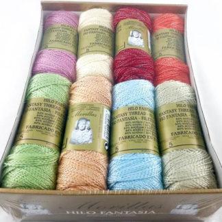 Caja 16 zepelines N5 fantasía brillo colores