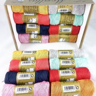 Caja 16 zepelines N5 colores serie 4 de algodón 100% egipcio