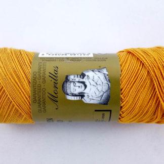 pelín color naranja 16 de algodón perlé 100% egipcio