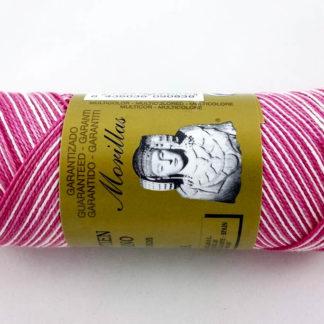 Zepelín color rosa 32 multicolor de algodón perlé 100% egipcio